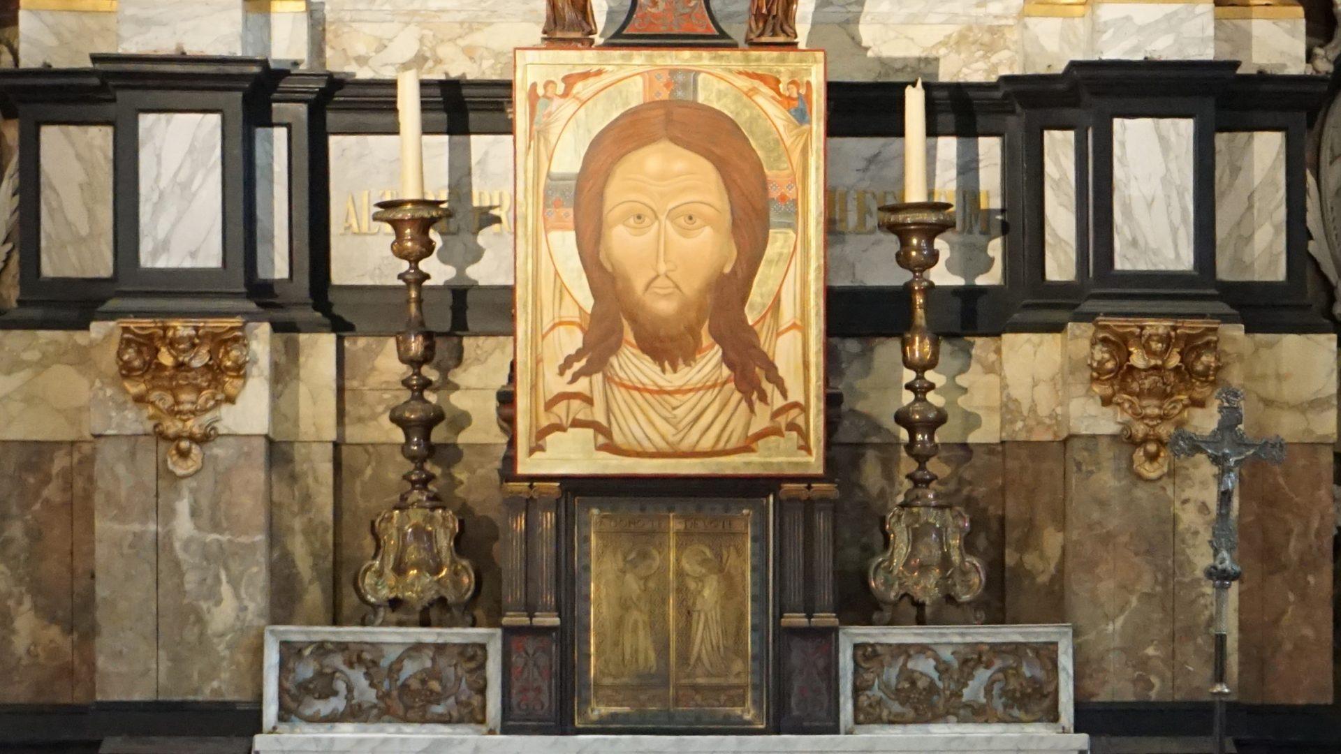 Icoon in de Mozes en Aäronkerk